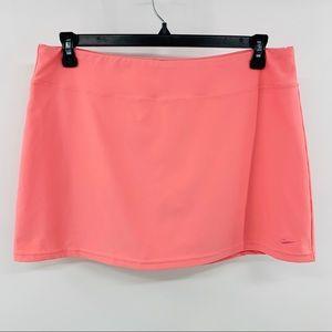 Nike Solid Pink Fit Dry Skort